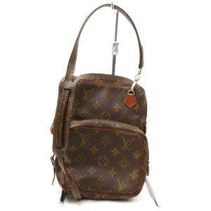 Auth Louis Vuitton Amazon Pm Crossbody #3378L13